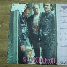 Discos de vinilo: EL REFUGIO.-SPANISH HEART.-FONOMUSIC.-AÑO 1991.-. Lote 28426538