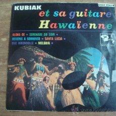 Discos de vinilo: KUBIAK.-ET SA GUITARE,HAWAÏENNE.-COLUMBIA.-AÑO 1962.-. Lote 28426929