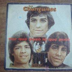 Discos de vinilo: LOS CHUNGUITOS.-PORQUE PASO LO QUE PASO.-EMI-ODEON.-AÑO 1982.-. Lote 28428220