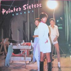 Disques de vinyle: LP - POINTER SISTERS - ENERGY - ORIGINAL ESPAÑOL, PLANET RECORDS 1979. Lote 28430192