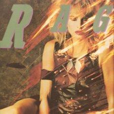Discos de vinilo: LP RAGE : NICE ´N´ DIRTY . Lote 28430712