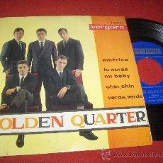 "Discos de vinilo: GOLDEN QUARTER AMERICA / TUS SERAS MI BABY ..+2 7"" EP 1964 VERGARA. Lote 28434559"