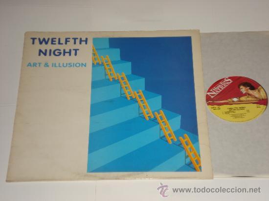 TWELFTH NIGHT / ART & ILLUSION - LP MADE IN ENGLAND 1984 - MFN 36 - TOTALMENTE NUEVO A ESTRENAR!!! (Música - Discos - LP Vinilo - Heavy - Metal)
