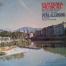 Discos de vinilo: PEÑA ALCOYANO DE TOLOSA - FANTASÍA MUSICAL - LP VINILO. Lote 28443438