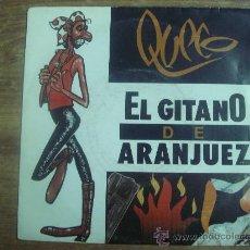 Discos de vinilo: QUECO.-EL GITANO DE ARANJUEZ.-HORUS.-AÑO 1991.-. Lote 28446098