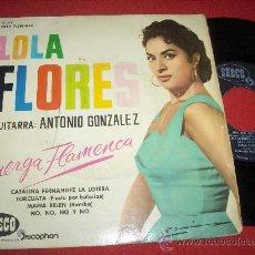 """Discos de vinilo: LOLA FLORES Y ANTONIO GONZALEZ CATALINA FERNANDEZ LA LOTERA / TORCUATA ..+2 7"""" EP 1961 DISCOPHON. Lote 28475264"""
