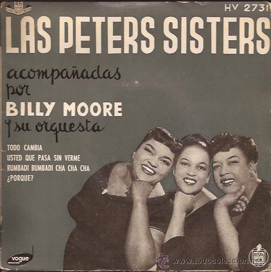 EP-PETERS SISTERS-HISPAVOX 2731-TRI CENTER- (Música - Discos de Vinilo - EPs - Rock & Roll)