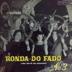 Discos de vinilo: RONDA DO FADO Nº 3 - JOSÉ BORGES, MARÍA MARQUES - LP VINILO. Lote 28453426
