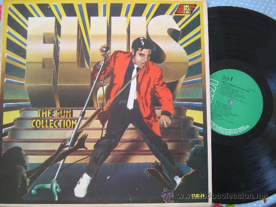 .LP ELVIS PRESLEY THE ELVIS PRESLEY SUN COLLECTION ENGLAND 1975 LP 33 RCA (Música - Discos - LP Vinilo - Pop - Rock - Extranjero de los 70)