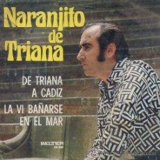 Discos de vinilo: NARANJITO DE TRIANA - 1974. Lote 28459819