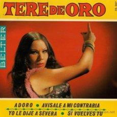 Discos de vinilo: TERE DE ORO - 1969. Lote 28459929