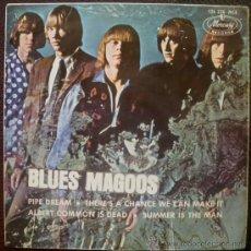 Discos de vinilo: BLUES MAGOOS EP SPAIN 1967 PIPE DREAM - PSYCH GARAGE USA. Lote 28462461