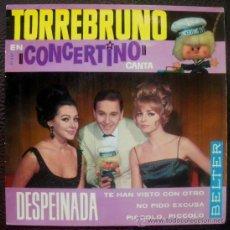 Discos de vinilo: TORREBRUNO EP 1964 - BELTER 51327 - PEPPINO DI CAPRI COVER - ROCK AND ROLL. Lote 28462862