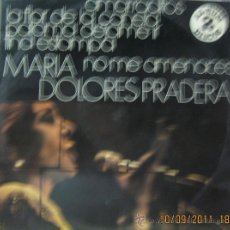 Discos de vinilo: MARIA DOLORES PRADERA (DOS DISCOS). Lote 28465337
