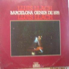 Discos de vinilo: LLUIS LLACH - BARCELONA GENER DE 1976. Lote 28465366
