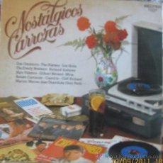 Discos de vinilo: NOSTALGIAS CARROZAS. Lote 28465492