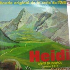 Discos de vinilo: HEIDI -CANTA EN ESPAÑOL- . Lote 28465577