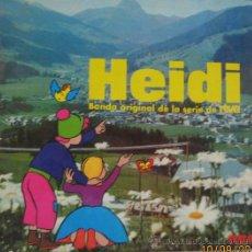 Discos de vinilo: HEIDI - BANDA ORIGINAL DE LA SERIE DE RTVE. Lote 28465605