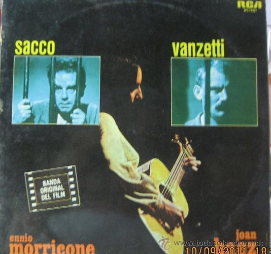 SACCO & VANZETTI - JOAN BAEZ (Música - Discos - LP Vinilo - Bandas Sonoras y Música de Actores )