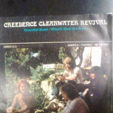 Discos de vinilo: CREEDENCE CLEARWATER REVIVAL - TRAVELIN´BAND (1970). Lote 28480068