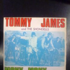 Discos de vinilo: TOMMY JAMES AND THE SHONDELLS - MONY, MONY (1968). Lote 28480488
