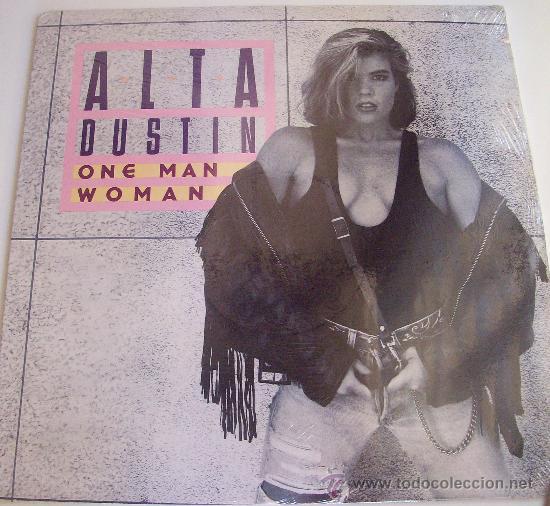 MAXI DE ALTA DUSTIN ONE MAN WOMAN PRECINTADO. (Música - Discos de Vinilo - Maxi Singles - Pop - Rock Extranjero de los 70)