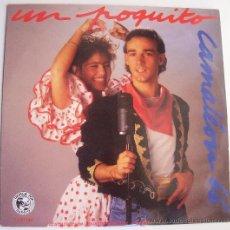 Discos de vinilo: MAXI SINGLE UN POQUITO CAMALEON. Lote 28483311