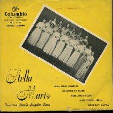 Discos de vinilo: STELLA MARIS - ORRA MARI DOMINGI / NERE AMAK BALEKI / AGUR EUSKAL ERRIA / BIOTZ BAT DAUKA - EP. Lote 28486277