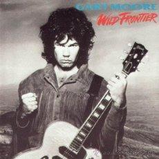 Discos de vinilo: GARY MOORE - WILD FRONTIER - (ESPAÑA-VIRGIN-1987) HEAVY HARD ROCK LP. Lote 28493705