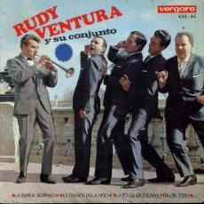 Discos de vinilo: RUDY VENTURA - LA BANDA BORRACHA / EXTRAÑOS EN LA NOCHE / LA PULGA DE TIJUANA / PIEL DEL TORO EP1966. Lote 28498565