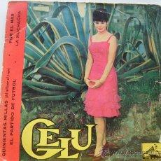 Discos de vinilo: GELU - QUINIENTAS MILLAS + 3 EP 1963. Lote 28506431