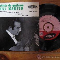 Discos de vinilo: SAMUEL MARTIN `FIESTA POR BULERIAS` EP. Lote 28504947