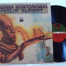 Discos de vinilo: MONGO SANTAMARIA - '' FEELIN' ALRIGHT '' LP. Lote 87965907