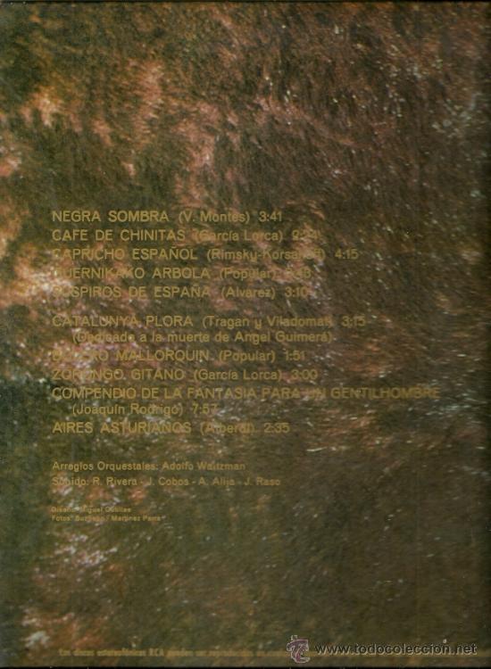 Discos de vinilo: LOS RELAMPAGOS LP SELLO RCA VICTOR PORTADA DOBLE AÑO 1971 - Foto 2 - 28531828