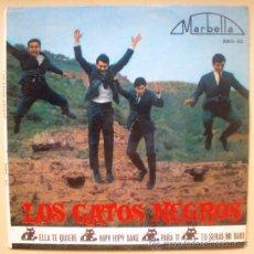 Discos de vinilo: GATOS NEGROS EP SPAIN 1964 - BEATLES + RONETTES COVERS - FABULOSO !!. Lote 28544034