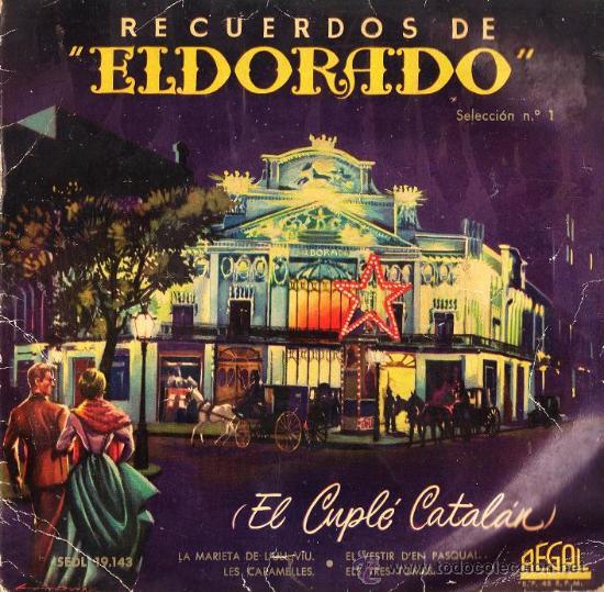 single - recuerdos de eldorado - ed. odeon - - Buy Vinyl Singles ... af92b8bf8bf