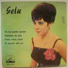 Discos de vinilo: GELU EP - ODEON 13731 - SPAIN 1962 - TWIST TWIST TWIST - CHICA YE-YE ESPAÑOLA. Lote 28544580