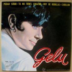 Discos de vinilo: GELU EP - ODEON 14112 - SPAIN 1964 - GIANI MORANDI - DIONNE WARWICK - CHICA YE-YE ESPAÑOLA. Lote 28544998