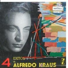 Discos de vinilo: ALFREDO KRAUS,4 EXITOS-DOÑA FRANCISQUITA-ALMA DE DIOS-LA ALEGRIA DEL BATALLON-EL TRUST DE LOS TENORI. Lote 28545947