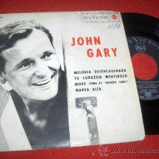"Discos de vinilo: JOHN GARY UNCHAINED MELODY / MORE ..+2 7"" EP 1964 RCA VICTOR EDICION ESPAÑOLA. Lote 28546327"