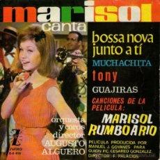 Discos de vinilo: MARISOL - EP SINGLE VINILO 7'' - BOSSA NOVA JUNTOA TI + 3 - EDITADO EN ESPAÑA - ZAFIRO - 1963. Lote 28551250
