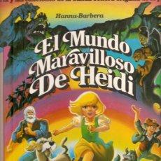 Discos de vinilo: LP EL MUNDO MARAVILLOSO DE HEIDI - CANCIONES EN ESPAÑOL (COMPUESTAS POR SAMMY CAHN & BURTON LANE) . Lote 28551252