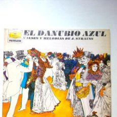 Discos de vinilo: DISCO LP DE VINILO. MÚSICA CLÁSICA. EL DANUBIO AZUL JOHANN STRAUSS. DEUTSCHE GRAMMOPHON, 1975. Lote 28553277
