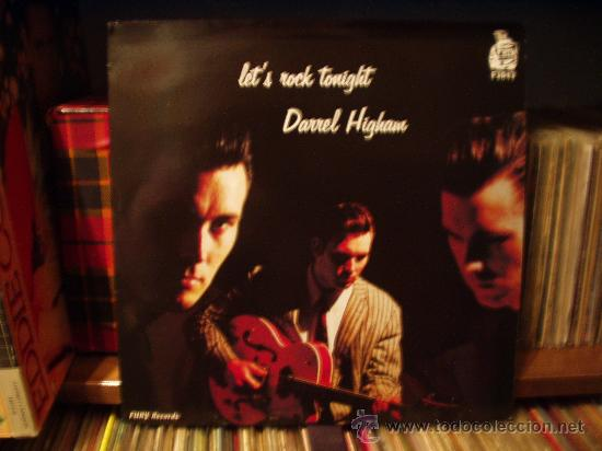 DARREL HIGHAM SU PRIMER LP, SUPERNUEVO (Música - Discos - LP Vinilo - Rock & Roll)