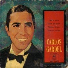 Discos de vinilo: CARLOS GARDEL - SIGA EL CORSO... 1959. Lote 28566544