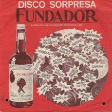 Disques de vinyle: MÓDULOS - EP FUNDADOR, 1972. Lote 28568631