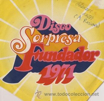 ANTONIO RESINES - EP- FUNDADOR, 1971 (Música - Discos - Singles Vinilo - Cantautores Españoles)