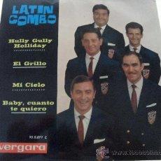 Discos de vinilo: LATIN COMBO - HULLY GULLY HOLLIDAY + 3 EP 1963. Lote 28592728