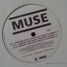Discos de vinilo: MUSE, NEWBORN. REMIX + 2 TEMAS. MAXI SINGLE DE VINILO. Lote 28595605
