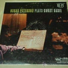 Discos de vinilo: OSCAR PETERSON PLAYS COUNT BASIE USA 1957 LP33 VERVE RECORDS. Lote 28605161